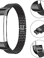 cheap -Watch Band for Fitbit Alta HR / Fitbit Alta Fitbit Jewelry Design Stainless Steel Wrist Strap