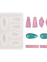 Недорогие -Кристалл кулон капли воды ромбовидной формы силиконовые полосы поделки