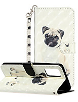 cheap -Case For Samsung Galaxy S20 Ulitra S20 Phone Case PU Leather Material 3D Painting Phone Case for S20 Plus S10 Plus S10 E S10 S9 Plus S9 S8 Plus S8