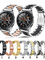 cheap -Watch Band for Gear S3 Frontier / Gear S3 Classic / Gear 2 R380 Samsung Galaxy Sport Band Stainless Steel Wrist Strap