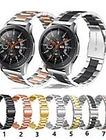 Недорогие -Ремешок для часов для Gear S3 Frontier / Gear S3 Classic / Gear 2 R380 Samsung Galaxy Спортивный ремешок Нержавеющая сталь Повязка на запястье