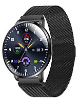 cheap -Z58 Stainless Steel Smartwatch for Samsung/ IOS/ Android Phones, Bluetooth Fitness Tracker Support Heart Rate Monitor/ Blood Pressure Measurement