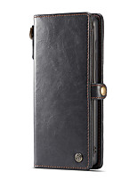 cheap -Case For Samsung Galaxy S20 Plus / S20 Ultra / S20 Card Holder Full Body Cases Solid Colored PU Leather / TPU