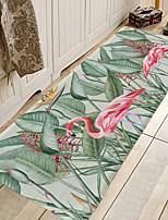 cheap -1pc Modern Fashion Flamingo Pattern Bath Mats / Bath Rugs Coral Velve Geometric / Abstract 5mm Bathroom New Design