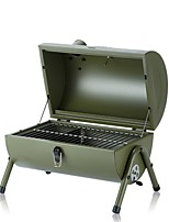 cheap -New Outdoor Portable Stainless Steel Barbecue Grill Mini Barbecue Grill Folding Barbecue Grill Removable Amazon