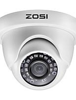 cheap -ZOSI H.265 3.6mm 1080P TVI Indoor & Outdoor Dome CCTV Camera Security Surveillance Waterproof AHD CVI TVI CVBS Analog System Infrared Night Vision