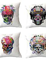 cheap -4 pcs Throw Pillow Simple Classic 45*45 cm Home Complex Geometry Peach Suede Pillowcase Summer Pillow Ins Nap Sofa Pillow Pillow