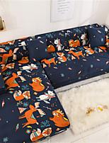 Недорогие -мультфильм животных принт пылезащитный всесильный чехлы стрейч l форма чехол для дивана супер мягкая ткань чехол для дивана с одной бесплатной наволочкой