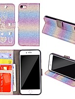 cheap -Case For Samsung Galaxy A51 / M40S / A71 Wallet / Shockproof Angel and Love Diamond Glitter PU Leather Case For Samsung S20 Plus / S20 Ultra /A20e /A50s /A30s /A10 /A60 /A70 /A80 /S10E/S10 5G/S10 Plus