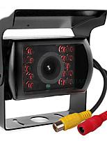 Недорогие -ziqiao 480tvl 720 x 480 ccd проводная 110-градусная камера заднего вида водонепроницаемая / Plug and Play / ночного видения для автобусов / грузовиков