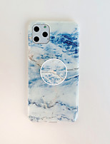 cheap -Case For Apple iPhone 7 8 7 Plus 8 Plus X XS XR XS Max SE 11 11 Pro 11 Pro Max with Stand Pattern Back Cover Marble TPU