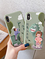 cheap -Case for Apple scene map iPhone 11 11 Pro 11 Pro Max Cartoon pattern frosted TPU material soft phone case HY
