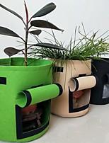 Недорогие -2020 новый мешок для посадки клубники красивый мешок для посадки ванили нетканый материал чувствовал выращивания растений рост мешок 35л