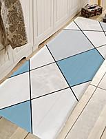 cheap -1pc Modern MarblingPattern Bath Mats / Bath Rugs Coral Velve Geometric / Abstract 5mm Bathroom New Design