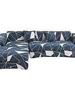 Недорогие -Треугольный принт пылезащитный всесильный чехлы на растягивающиеся диванные чехлы супер мягкая ткань чехла с одной бесплатной наволочкой
