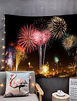 Недорогие -Дом гостиная гобелен гобелены гобелены стенное одеяло стены искусства декор стен праздник фейерверк гобелен декор стен