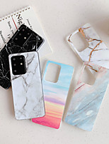 cheap -Case for Samsung scene graph Samsung Galaxy S20 S20 Plus S20 Ultra A51 A71 Classic marble pattern bright surface TPU material IMD process all-inclusive mobile phone case HJ3