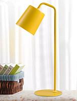 Недорогие -Настольная лампа Новый дизайн / Декоративная Современный современный Назначение В помещении 220 Вольт Желтый / Белый / Черный