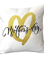 cheap -Mother's Day theme printed cotton and linen pillowcases home sofa pillows car pillows