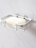 Недорогие -пространство алюминиевый сливной держатель мыла творческий туалет бесплатный удар мыльница металлическая ванная комната мыльница