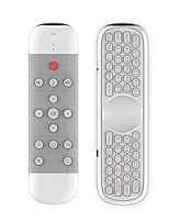 cheap -Q40 2.4G wireless Air mouse Android TV box remote control Button backlight Voice function