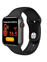 cheap -V10 Unisex Smart Wristbands Android iOS Bluetooth Heart Rate Monitor Blood Pressure Measurement Calories Burned Long Standby Thermometer Pedometer Call Reminder Activity Tracker Sleep Tracker