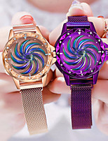 cheap -Women's Quartz Watches Fashion Black Blue Purple Alloy Chinese Quartz Rose Gold Red Gold Casual Watch 1 pc Analog One Year Battery Life
