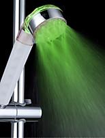 Недорогие -3-цветный чувствительный к температуре светодиодный изменяющий цвет ручной душ