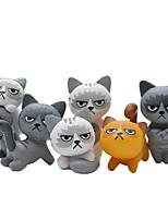 Недорогие -Милые несчастные злые кошки фигурку игрушки украшения комнаты детские игрушки