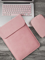 cheap -Matte Laptop Case 14 inch Laptop Sleeve for Macbook Pro Hp Dell Asus 15 13 Case for Mac book Air 13 Laptophoes included 1 power bag