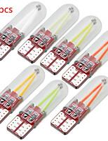 Недорогие -50 шт. T10 из светодиодов canbus w5w 194 168 силикагель початка накаливания номерного знака свет универсальный автомобиль просвет света боковой клин свет лампы