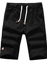 """cheap -Men's Hiking Shorts Hiking Cargo Shorts Summer Outdoor 10"""" Regular Fit Breathable Quick Dry Front Zipper Sweat-wicking Cotton Shorts Bottoms Black Khaki Sky Blue Dark Blue Camping / Hiking Hunting"""