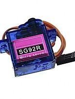 Недорогие -6 шт. Мини микро сервопривод sg92r 2.5 г для самолета