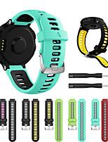 Недорогие -Ремешок для часов для Forerunner 735 Garmin Спортивный ремешок силиконовый Повязка на запястье