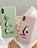 cheap -Case for Apple scene map iPhone 11 11 Pro 11 Pro Max Fruit pattern frosted TPU material soft phone case HY