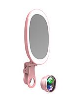 Недорогие -brelong® нерегулярные косметические фонари tiktok light youtube видео ночник с USB-портом / фары для фотографий / светодиодное косметическое зеркало с переключением режимов usb 1шт
