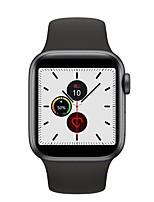 Недорогие -W55 Bluetooth-трекер фитнес для Apple / Android телефонов поддержка ЭКГ + ppg&измерение артериального давления, водонепроницаемые часы ожидания SmartWatch