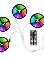 Недорогие -Loende 4x5m Гибкие светодиодные полосы света Наборы RGB лампы TikTok 1200 светодиодов SMD5050 10 мм RGB лампы TikTok Рождество / Новый год Cuttable / Party / декоративные 12 В