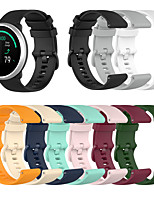 cheap -Watch Band for Gear S3 Classic / Samsung Galaxy Watch 46mm / Samsung Galaxy Watch 42mm Samsung Galaxy Sport Band / Classic Buckle Silicone Wrist Strap