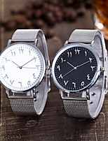cheap -Women's Quartz Watches New Arrival Fashion Silver Alloy Chinese Quartz Silver / Black Silvery / White Casual Watch 1 pc Analog One Year Battery Life