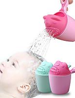 cheap -Baby Cartoon Bear Bathing Cup Newborn Kid Shower Shampoo Cup Bailer Baby Shower Water Spoon Bath Wash Cup for 2 Color