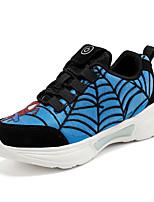 Недорогие -Мальчики / Девочки Обувь с подсветкой Синтетика Спортивная обувь Маленькие дети (4-7 лет) / Большие дети (7 лет +) Беговая обувь / Для прогулок LED Красный / Синий / Серый Лето / Осень / Резина