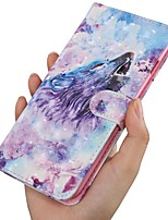 cheap -Case For Samsung Galaxy A5(2018) / A6 (2018) / A6 Plus Wallet / Card Holder / with Stand Full Body Cases Animal PU Leather For Galaxy A7 2018/A8 2018/A9 2018/J8 2018/J6 Plus/J4/Note 9
