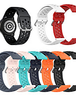 cheap -Breathable Silicone Sport Strap For Huawei watch GT2 42MM / watch2 / Honor MagicWatch 2 42MM