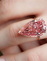 cheap -Women's Ring 1pc Silver Platinum Plated Alloy Wedding Gift Jewelry Cute