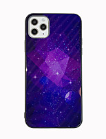cheap -Case For Apple iPhone 11 / iPhone 11 Pro / iPhone 11 Pro Max Pattern Back Cover sky / Geometric Pattern TPU / Tempered Glass