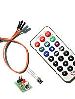 Недорогие -инфракрасный ИК-модуль hx1838 беспроводной пульт дистанционного управления датчик комплект для Raspberry Pi