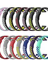 Недорогие -20 мм для ticwatch c2 / ticwatch 2 / ticwatch e силиконовый спортивный ремешок для часов ремешок