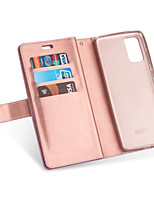 cheap -Case For Apple iPhone 11 / iPhone 11 Pro / iPhone 11 Pro Max Card Holder / Shockproof Back Cover Tile PU Leather / TPU