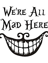 cheap -Characters / Halloween clown Decorations Wall Stickers 43*43cm
